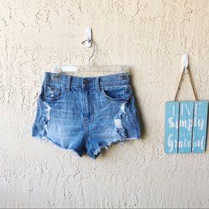 Hollister Vintage Jean Short Highrise
